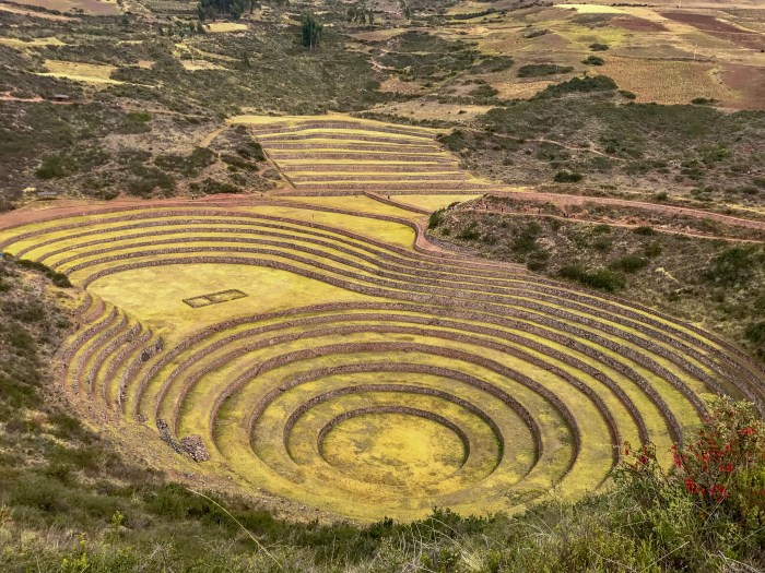 The Moray Inca Ruin is something spectacular to see in the Sacred Valley.