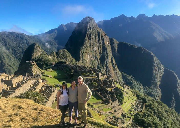 Made it to Machu Picchu because of our awesome packing for the Inca trail