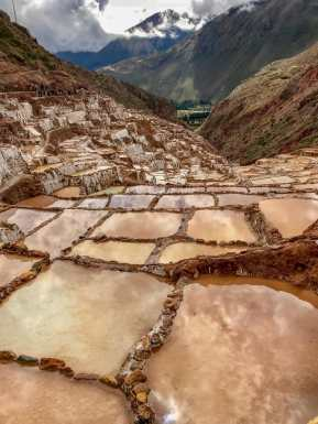 The best thing to see in the Sacred Valley are the Maras Salt Mines.
