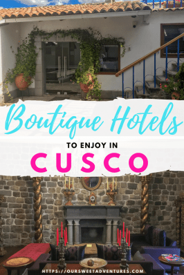 We found some of the best boutique hotels in Cusco that we absolutely fell in love with! They have spectacular views, delicious dining options, exceptional service, luxurious accommodations and great locations…what more can you ask for? #Cusco #Peru #BoutiqueHotel #Hotel