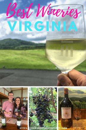 A visit to the best Charlottesville wineries is the perfect romantic getaway for couples. Beautiful views, fabulous wines, delicious cuisine, B&B and more.