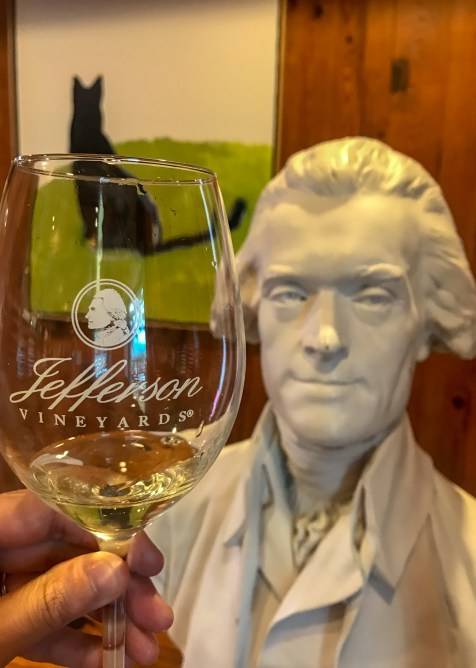 Jefferson Vineyard is one of the best Charlottesville wineries on the Monticello Wine Trail