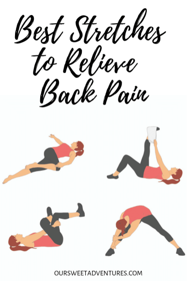 Stretching relieves and prevents back pain more than anything. Here are four stretches that I abide to every day to help relive back back, especially when I travel.