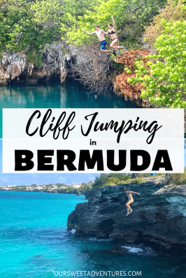 The most thrilling and adrenaline rushing activity is cliff jumping in Bermuda. You can either cliff jump at Blue Hole Park or into the ocean at Admiralty House Park.