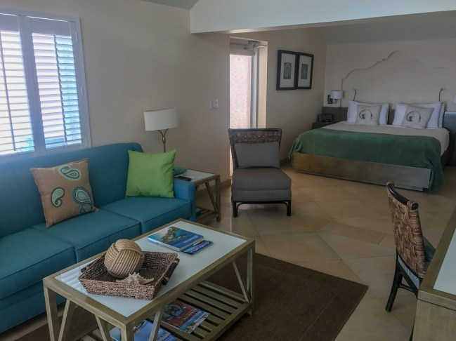 Our spacious and luxurious Junior Suite at The Reefs Resort & Club in Bermuda