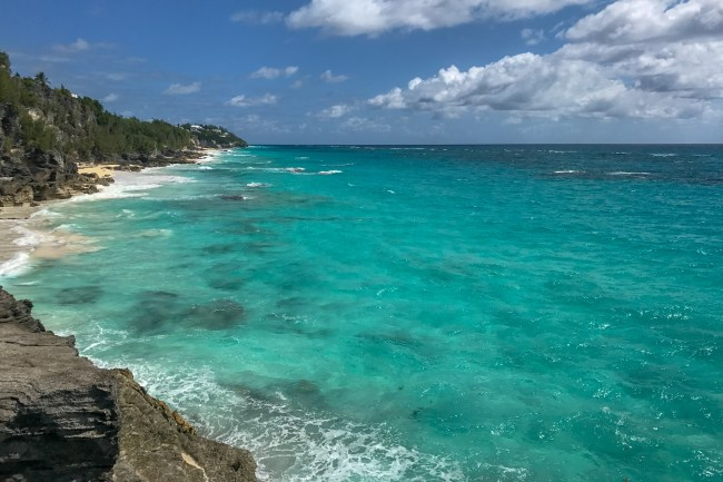 The views from Astwood Cove in Bermuda are absolutely breathtaking!