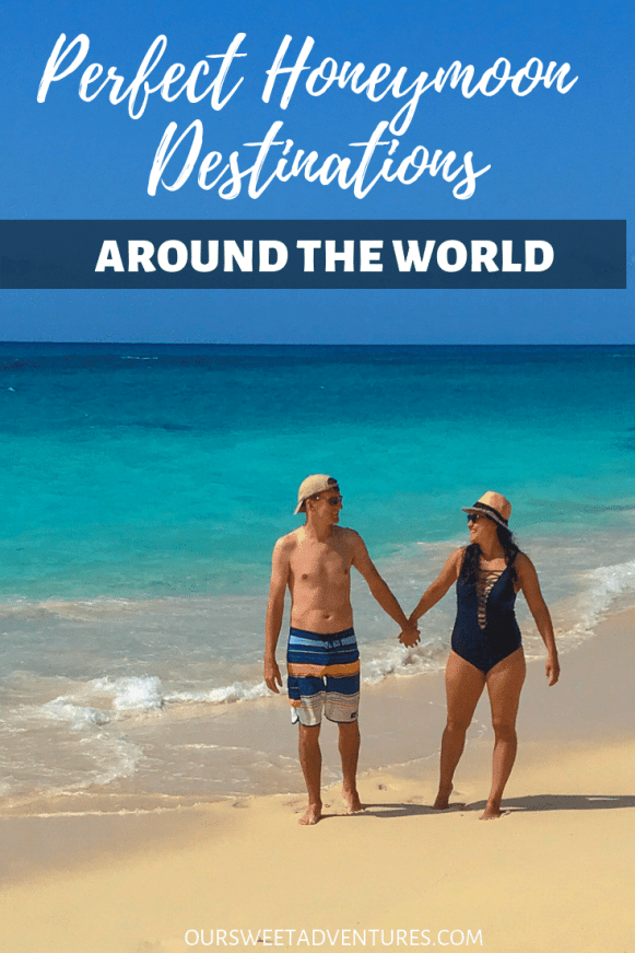 Start your marriage off with the perfect honeymoon destination! We have 35 amazing honeymoon destinations to inspire romance and wanderlust for any travel couple. #Honeymoon #TravelCouple #Romance