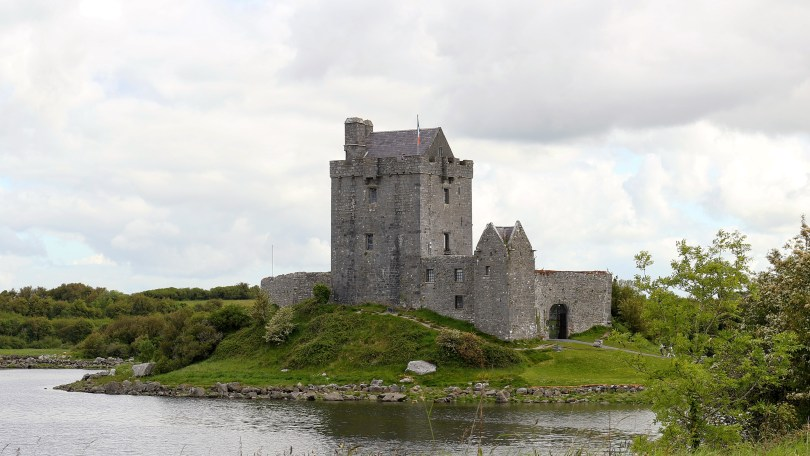 Dunguaire Castle is a beautiful castle along the Wild Atlantic Way. You can even enjoy dinner and entertainment in their banquet halls every night. It is a beautiful castle in Ireland you should not miss.