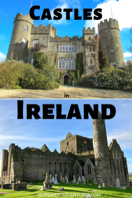 One of the best sights you can see in Ireland is castles! A few castles have been restored to attract tourists with guided tours, whereas others you may explore on your own. Or you can even stay in a castle hotel!