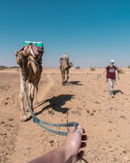 JAISALMER OVERNIGHT CAMEL SAFARI THAR DESERT