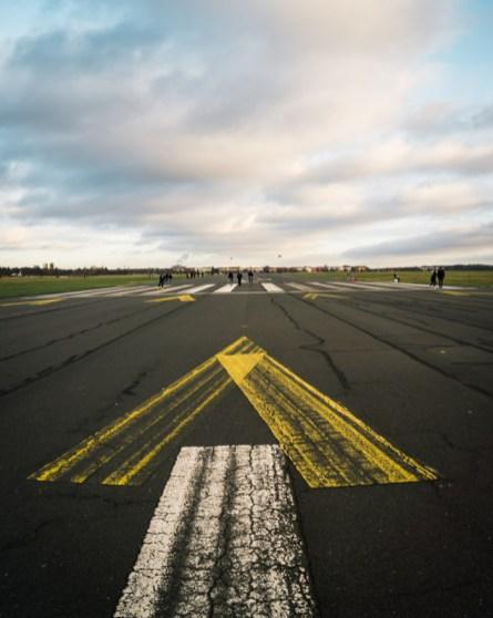 Tempelhof Airport runway berlin