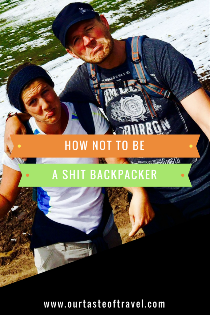 We are not that couple, y'know, the ones who do backpacking well. Learn from our mistakes!