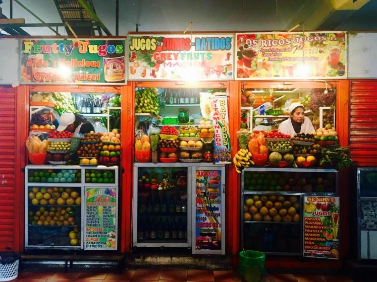 Mercado Lanza, La Paz, Bolivia