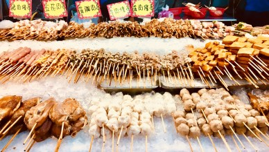 Treats on sale at the night market