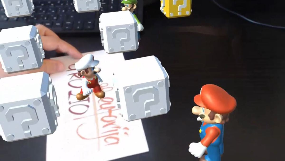 Augmented Reality Tutorial No. 40: Super Mario Augmented Reality