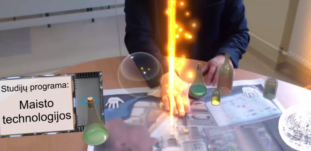 [DEMO] Augmented Reality Promotional App - Klaipeda State University of Applied Sciences