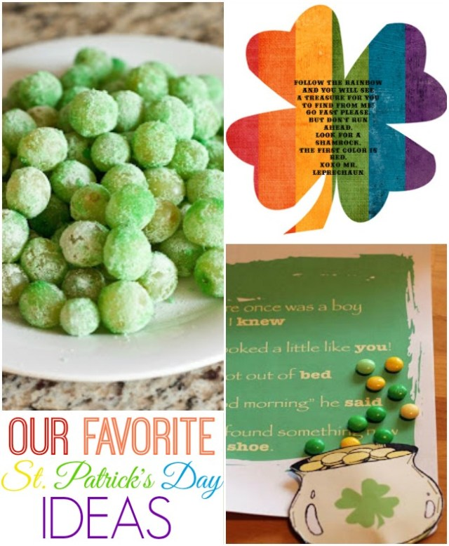 These are our favorite St. Patrick's Day ideas for the family!