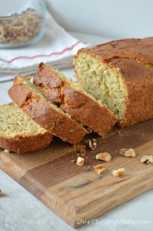 Banana Bread from OurThriftyIdeas.com