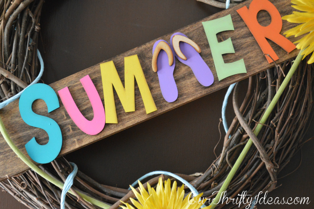 Wreath Idea for Summer