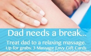 {Giveaway} Father's Day Massages