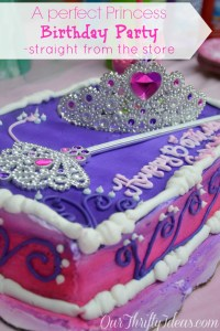 Baby Girl Barker's #DreamParty Celebration - Our Thrifty Ideas