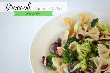 Broccoli Summer Salad Recipe