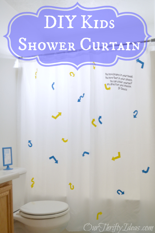 DIY Shower Curtain for Children