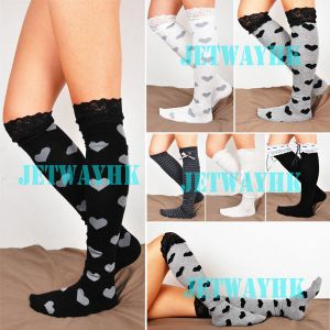 Crochet Lace Trim Cotton Lolita Leg Warmers Boot Socks Knee High Bow stockings for $3.99 ($3.99 shipping)