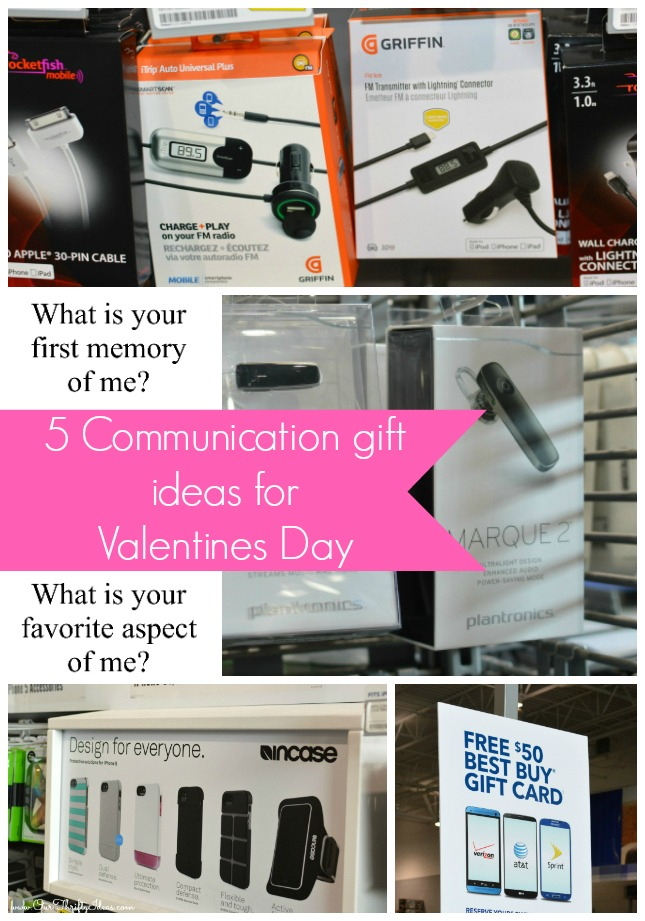 5 communication gift ideas for your husband this Valentines Day | www.ourthriftyideas.com #OneBuyForAll #shop #cbias