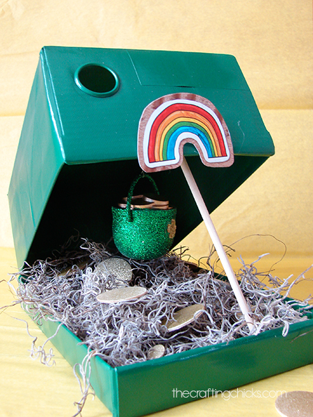 A fun idea for a Leprechaun Trap