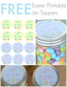 Hoppy Easter Free printable