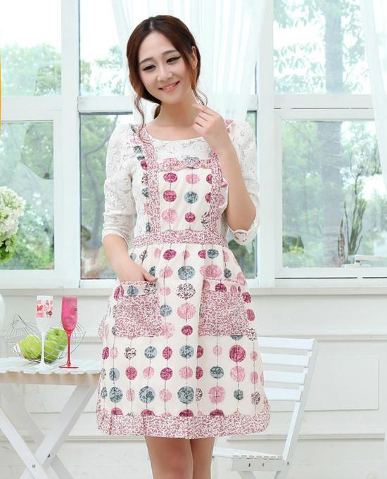 patterned apron