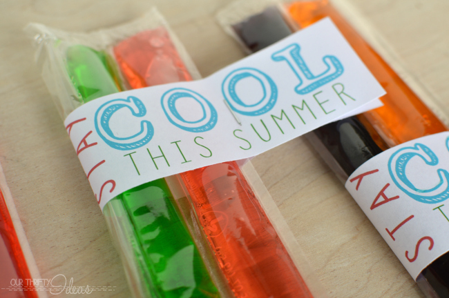 photograph regarding Have a Cool Summer Printable named Remain Neat this Summer time - Cost-free Printable - Our Thrifty Programs