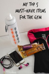 Top 5 must have items for the gym