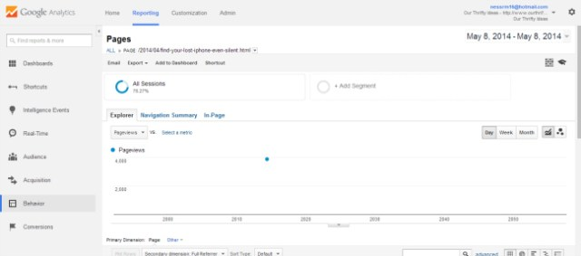 Google Analytics tip - find where your traffic is coming from