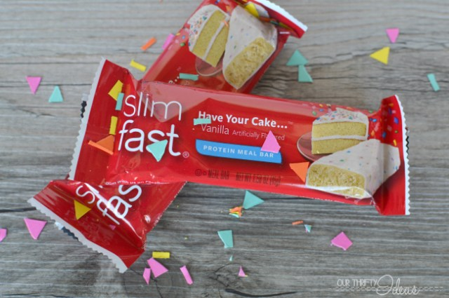 slimfast have your cake bar