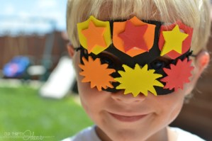 DIY Superhero Mask