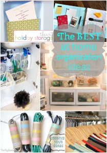 The Best at home organization ideas