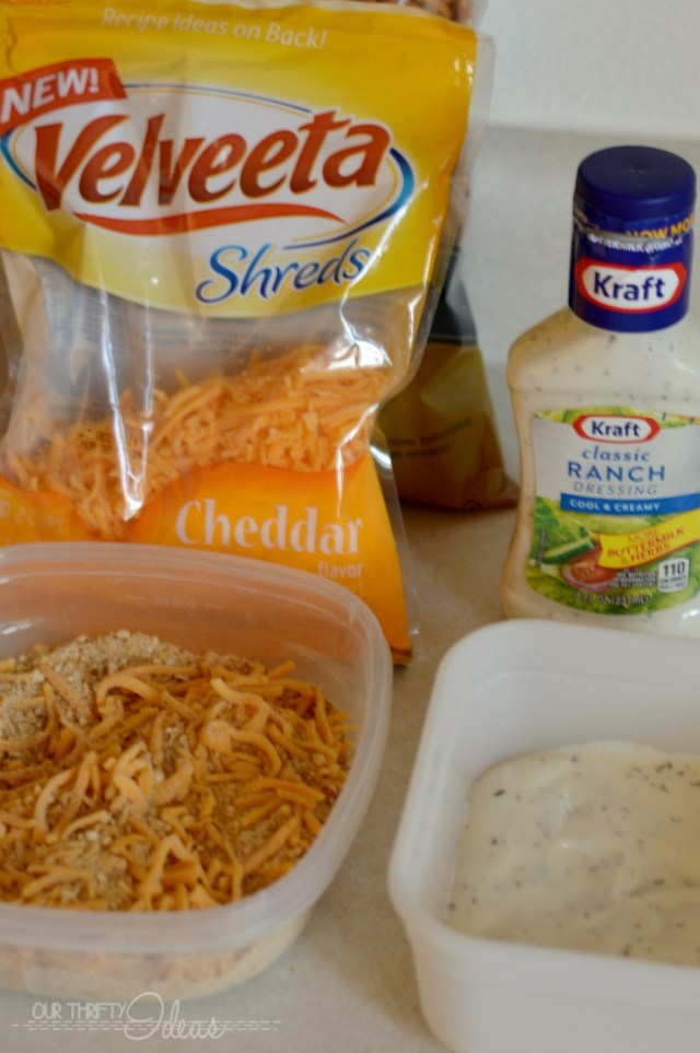 baked chicken and creamy chipotle dipping sauce