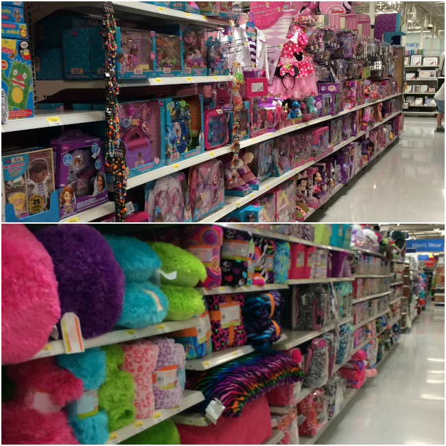 Disney Jr bedding in Walmart