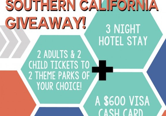 Southern CA Vacation giveaway