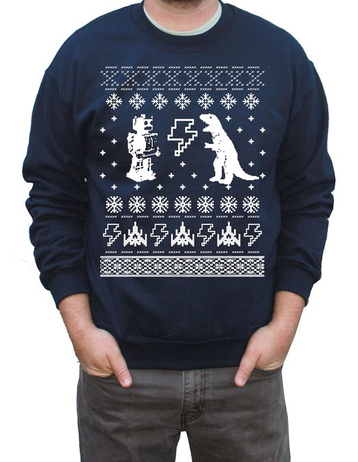 geeky Ugly Christmas Sweater