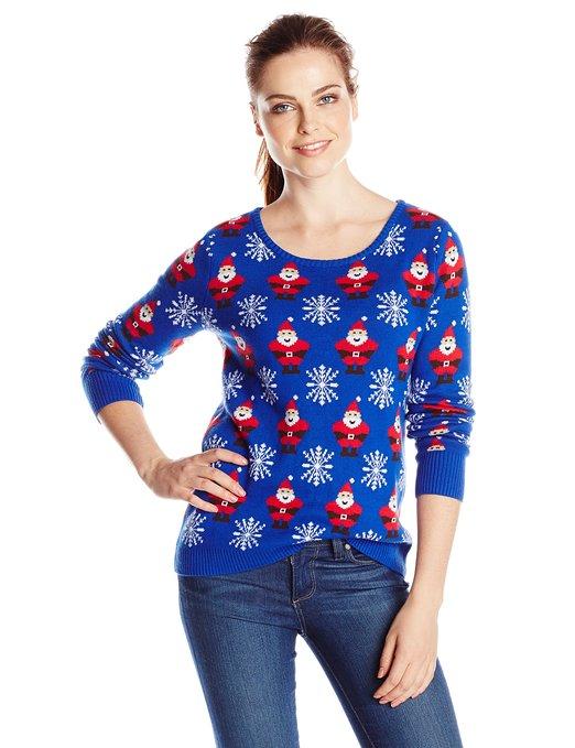 Santa & Snowflake Sweater