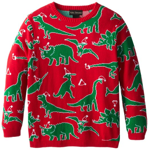 Little Boys Ugly Sweater - Christmas