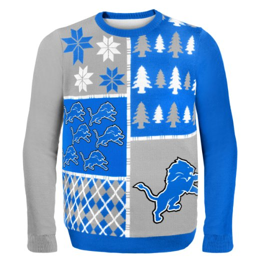 Lions Ugly Christmas Sweater