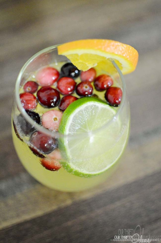 Citrus Party Punch from OurThriftyIdeas.com