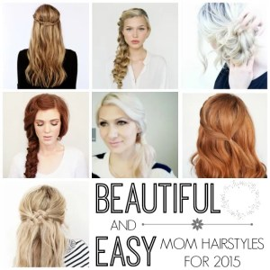 BEAUTIFUL AND EASY MOM HAIRSTYLES FOR 2015