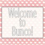 Valentine BUNCO printable pack