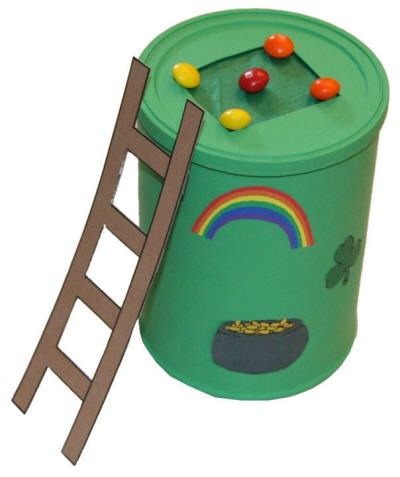 Leprechaun Trap idea, the kids will love it