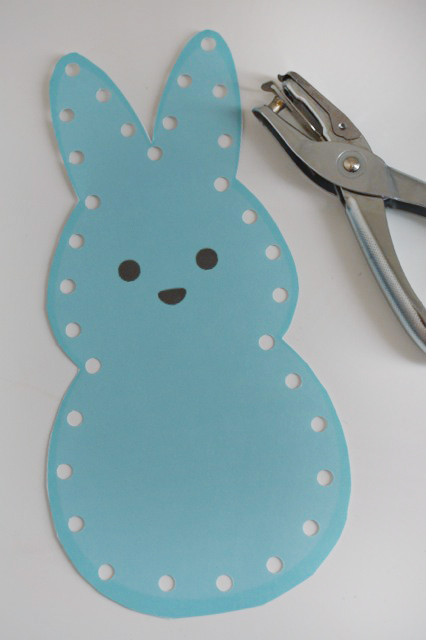 Hole Punch around the peep